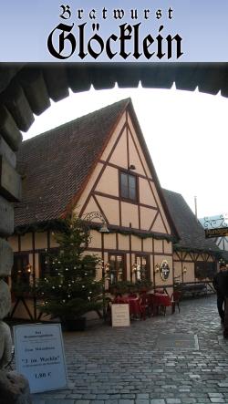 Historiche Bratwurst Glocklein