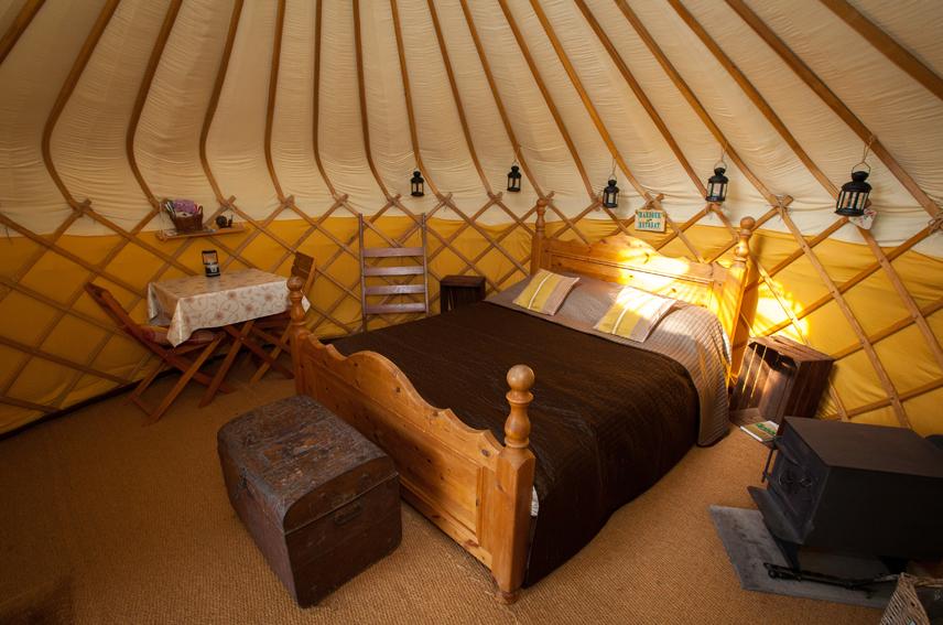 Jersey Yurt Holidays