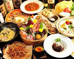 Italian & Japanese Food Space Gargotta