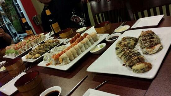 40 Tempura Sushi Restaura