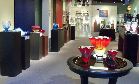 Liquid Sands Glass Gallery