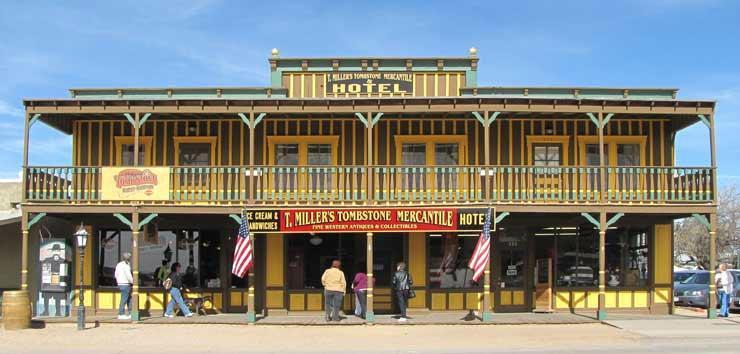T. Miller's Tombstone Hotel