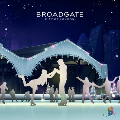 ‪Broadgate Ice Rink‬