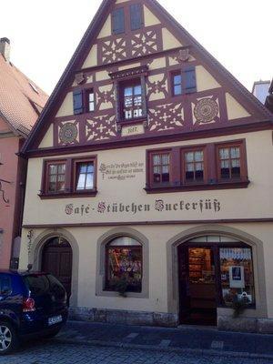Cafe-Stubchen Zuckersuss