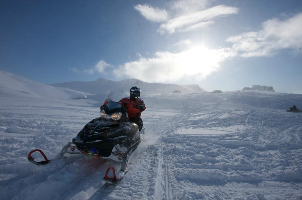 Snowmobileis Reykjavik All You Need To Know Before You Go - This is what happens when you fly a snowmobile off a cliff