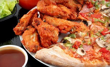3 For 1 Pizza & Wings