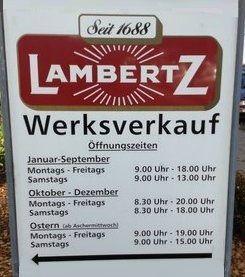 Lambertz Werksverkauf