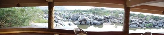 panorama vanuit de sun cottage