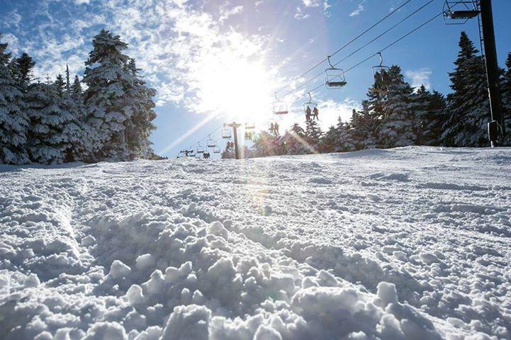 Vermont gay en plein air ski