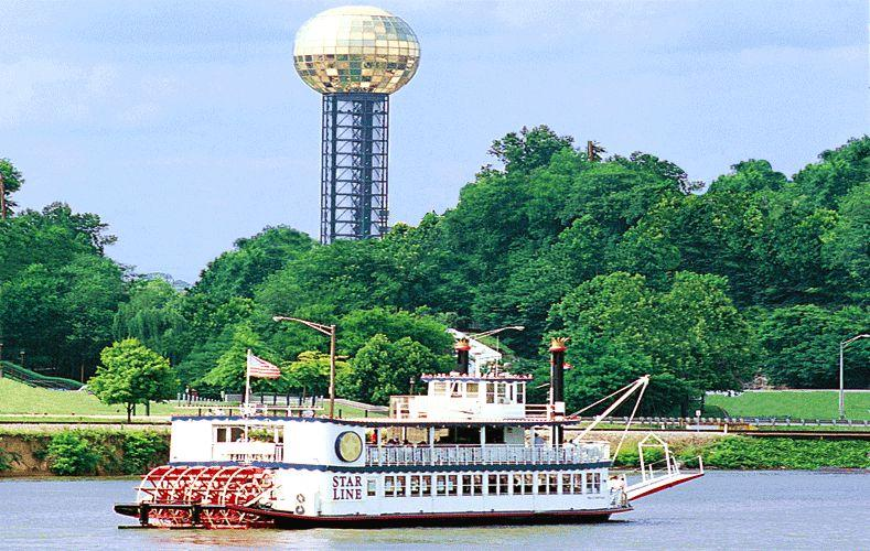 Knoxville from the Tennessee River