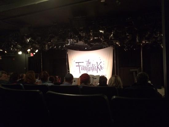The Fantasticks on Broadway