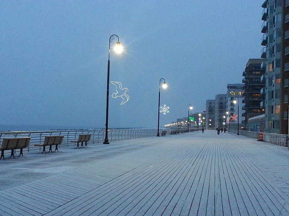 Long Beach boardwalk, December 10 2013