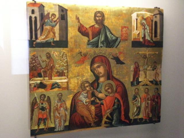 Risultati immagini per museo nazionale di ravenna icone bizantine a affreschi santa chiara