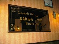 Kariba Pub Di Scanu Mario & C. SNC