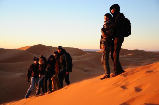 Quiet Merzouga Desert