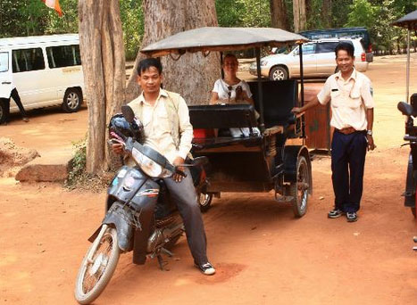 Angkor Tuk Tuk Drivers Private Day Tours