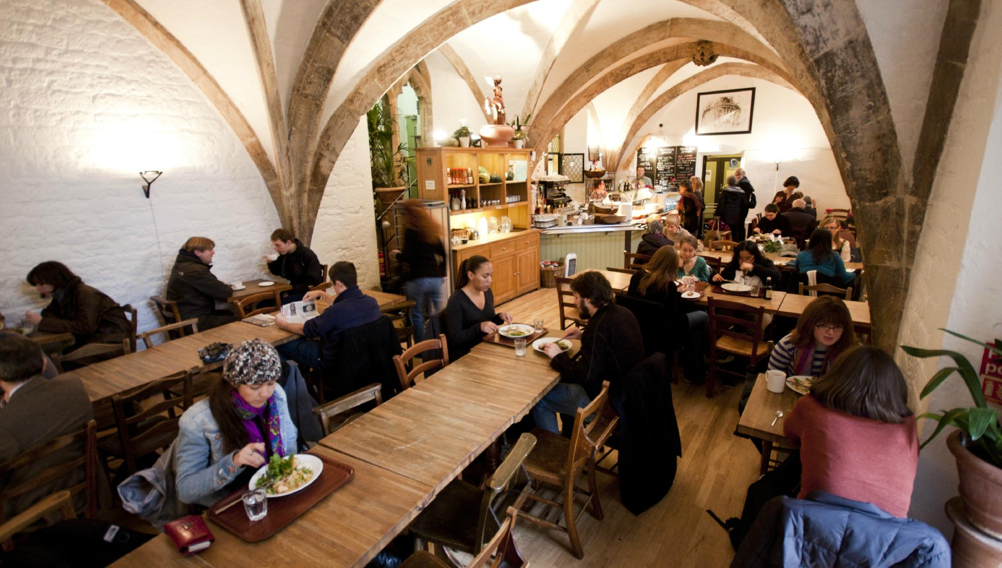 Vaults + Garden Cafe - Oxford
