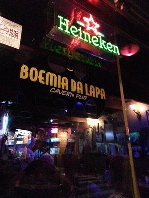Boemia Da Lapa Cavern Pub