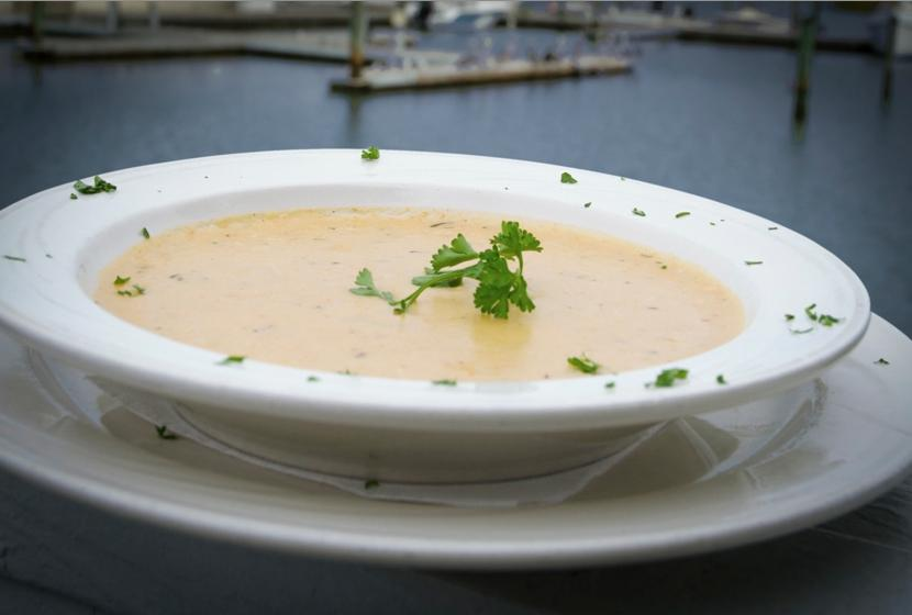 best she crab soup in hilton head