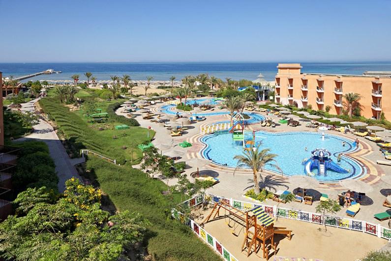 The Three Corners Sunny Beach Resort Hurghada Egypt Hotel - Map of egypt beach resorts