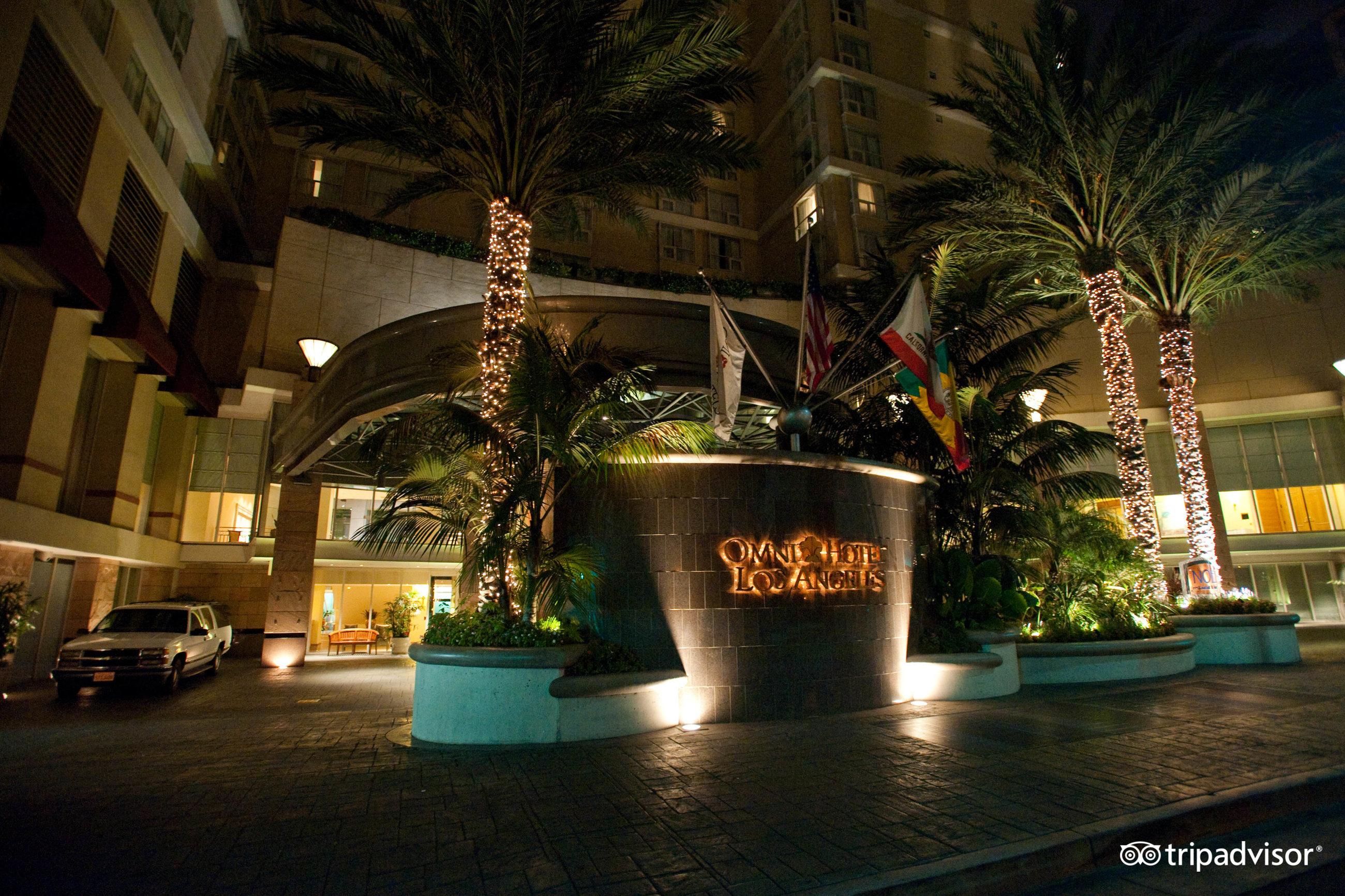 omni angeles hotel