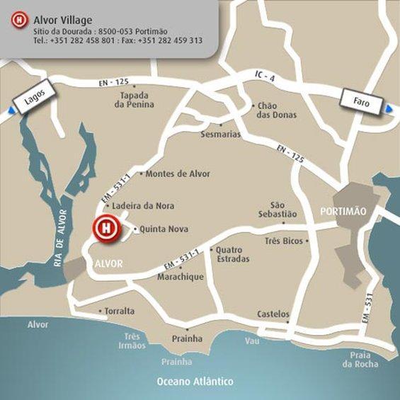 Luna Alvor Village UPDATED Prices Hotel Reviews Portugal - Portugal map alvor