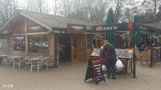 Rotisserie at Trentham Gardens