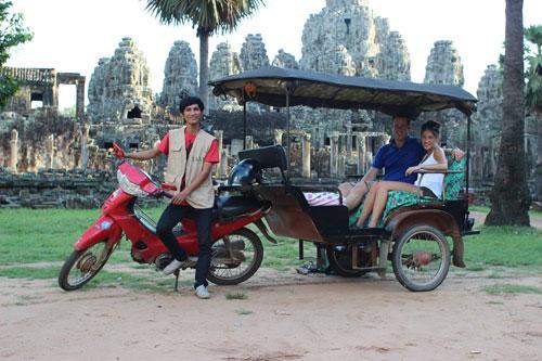 Tuk Tuk Driver Angkor