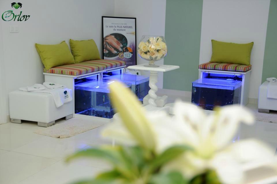 Institut de beaut orlov fish spa solutions tunis for Salon 9 places tunisie