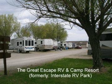 The Great Escape RV Camp Resort