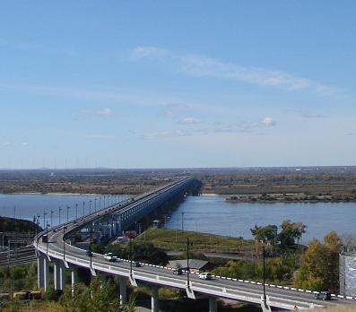 The Bridge Across the River Amur