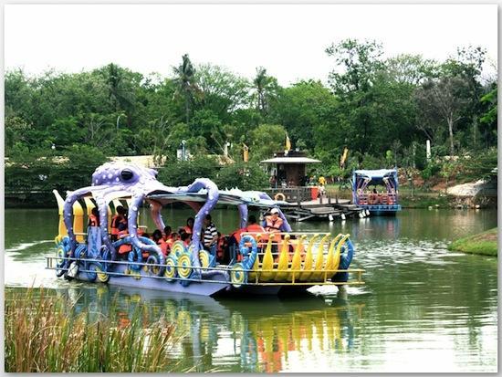 Wahana Outbound Ocean Ecopark Ancol