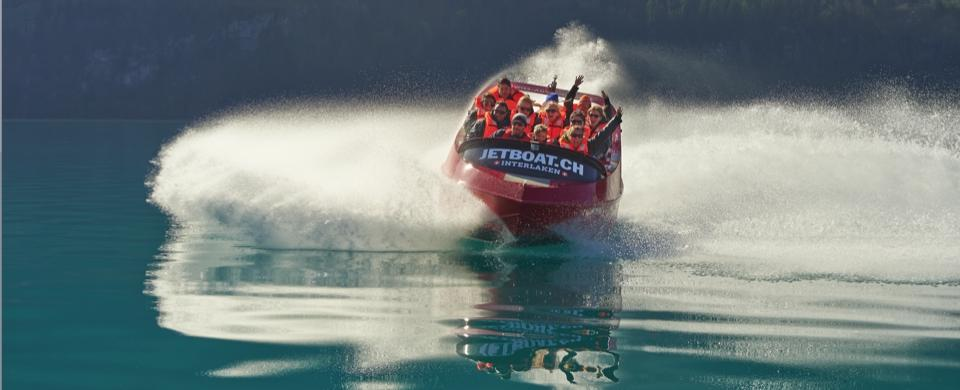 Jet Boat Interlaken