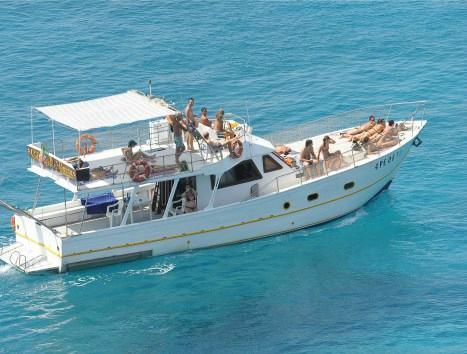 La Guaza gite in barca a Lampedusa