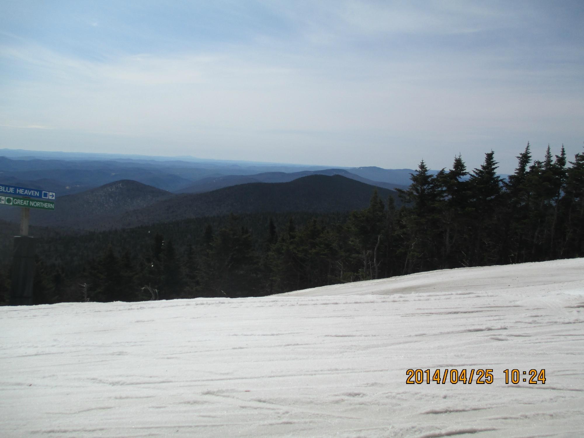 Killington Peak view looking northeast