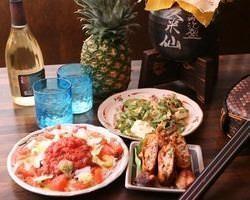Okinawan cuisine Tavern Kachuushii Shinjuku