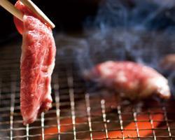 Charcoal fire grilled meat Hanahanagyu Higashiyamato