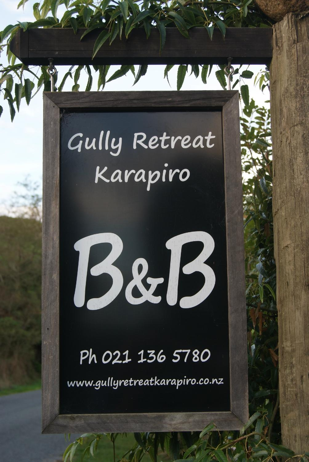 Karapiro New Zealand  City new picture : Gully Retreat Karapiro Cambridge, New Zealand : B&B Reviews, Prices ...