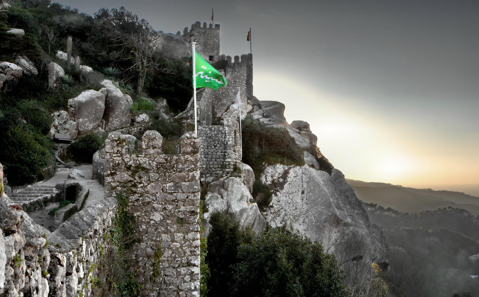 pt-lisbon - ポルトガル世界文化遺産シントラ ペーナ宮殿・ムーア城跡・レガレイラ宮殿を巡る - 旅ログヨーロッパ, 建造物, ポルトガル街歩き