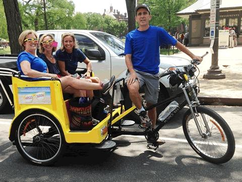 Nonpartisan Pedicab