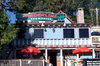 Borderline grill and bar in Cedar glen
