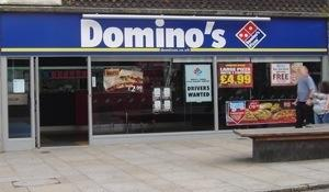 Dominoes pizza penzance