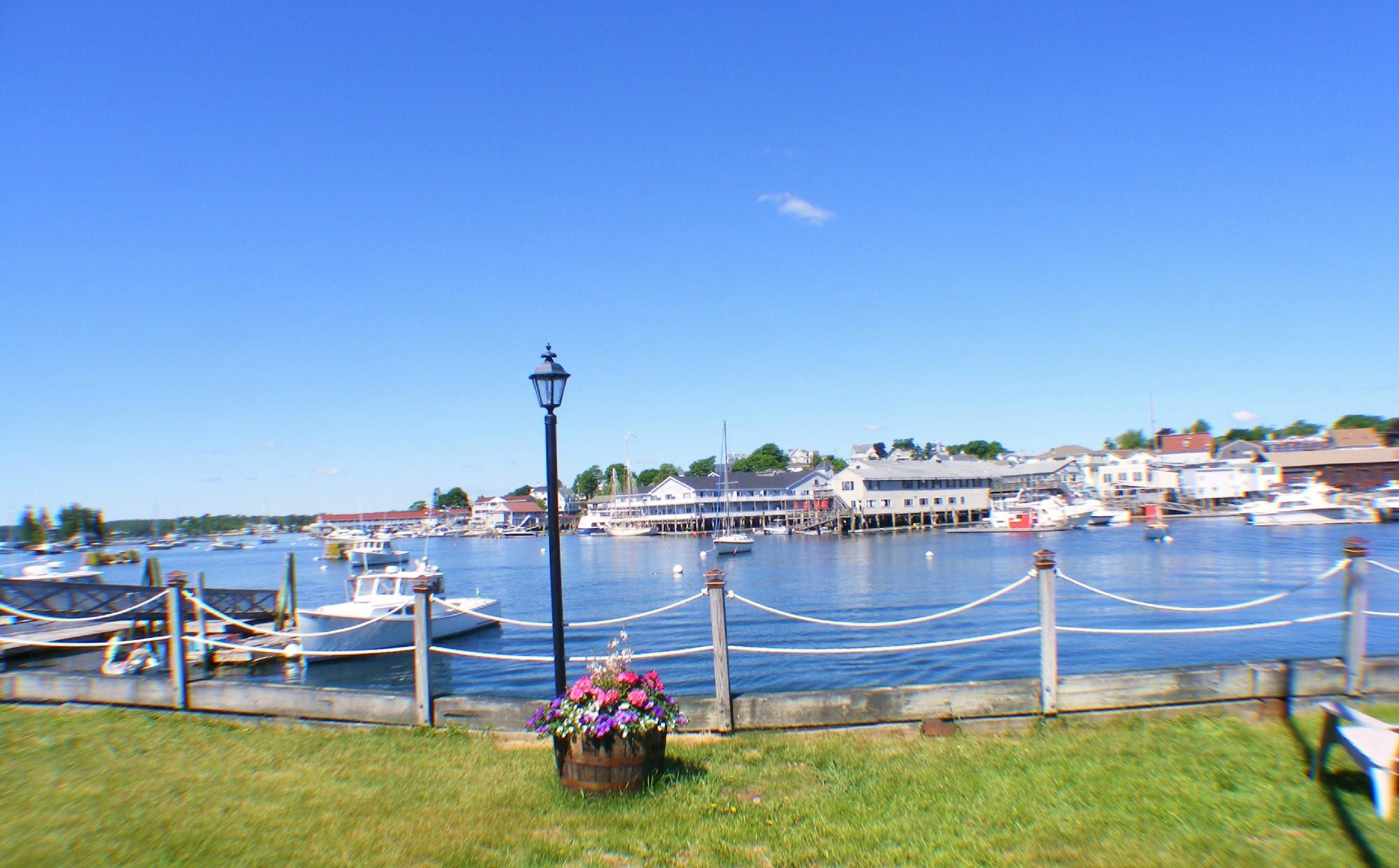 Looking Across The Harbor.