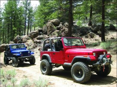 High Sierra jeep adventures