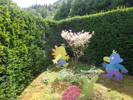 Conwy Valley Garden Maze