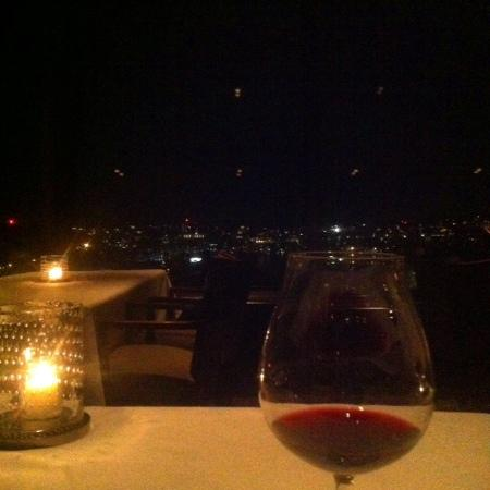 dinner with a view.