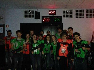 ‪redSeven bar & laser game‬