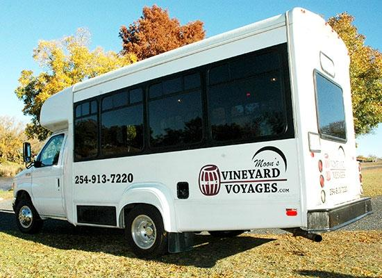 Moon's Vineyard Voyages -  Wine Tours