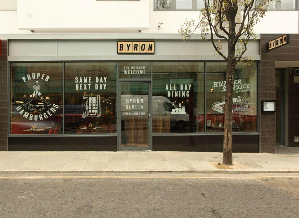 Restaurants byron in camden with cuisine american for American cuisine london
