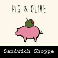 Pig and olive